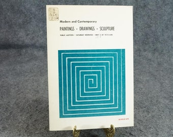 Modern And Contemporary Paintings Drawings Sculpture C. 1973.