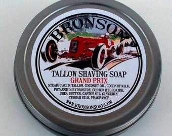 bronson tallow shaving soap speedway 4oz. Black Bedroom Furniture Sets. Home Design Ideas