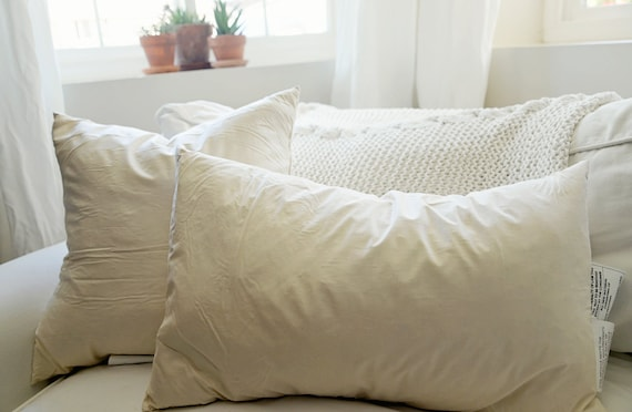 Down Pillow Insert, Purchase with Pillow Cover
