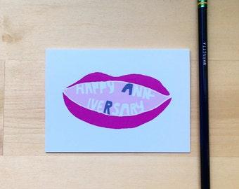 Happy Anniversary Lips