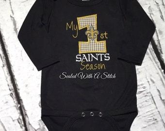 Saints Onesie, 1st Saints Season