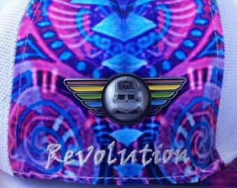 Jumbie Art Jumbie Wings Hat Pin