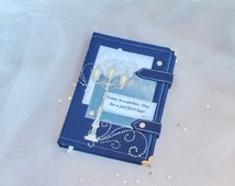 Coptic Notebook, Diary, Journal, Planner, Personalized notebook with lock, Notebook A5, notepad A5
