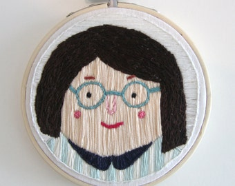 Julie | Embroidery art