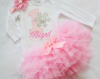 first birthday outfit girl,Winter Onederland Outfit,1st birthday girl outfit,winter 1st birthday,pink silver outfit,cake smash outfit girl