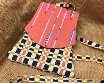 Crossbody phone and wallet bag