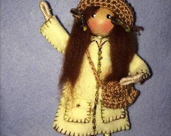 Olivia Mae Pipe Cleaner Doll