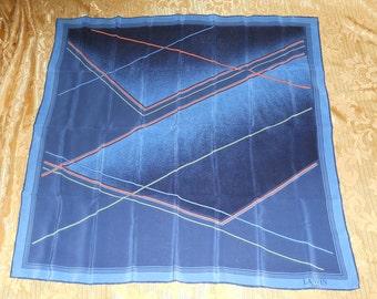 Genuine vintage Lanvin scarf 100% silk