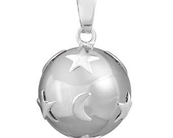 Pregnancy Mexican Moon Star + cord included - musical gem for pregnant woman