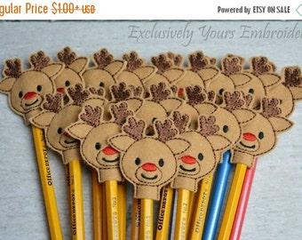 Reindeer Pencil Toppers