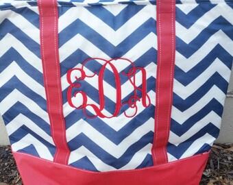 Monogrammed Insulated Cooler Bag