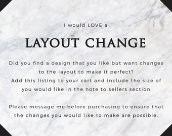 Layout Change