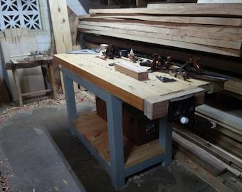 Woodworking Roubo Workbench