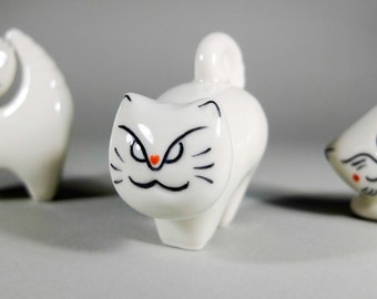 Curious Cat Figurine