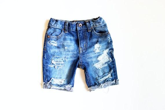 Jax Cutoff Shorts Knee Length Boy Baby/Toddler/Child