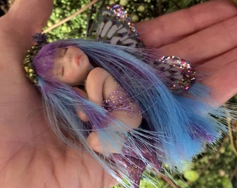 Custom Tiny Fairy With Color Changing Hair