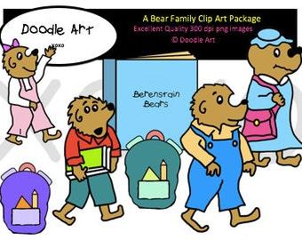 Berenstain Bears Clipart Pack