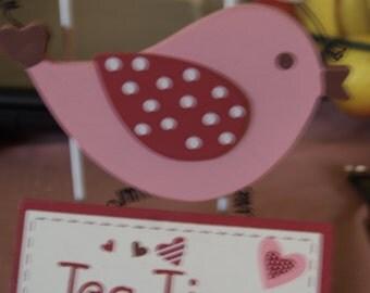 Tea Time Bird Plaque