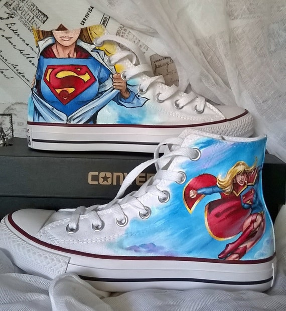 The Flash Converse Shoes For Grils Size Y