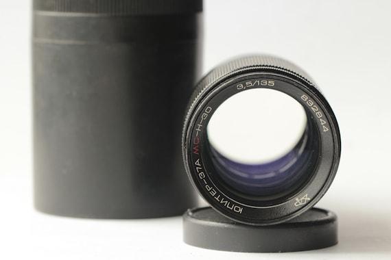 RARE Lens Jupiter-37A MC-H-30/ 135mm f/3.5 lens M42/ sonnar /SLR Canon 1D 5D 6D/ N832844