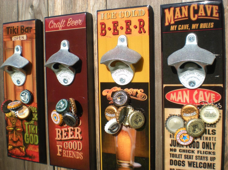 Magnetic Cap Catcher Bottle Opener Beer Bottle Opener
