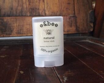 mini organic lotion stick : pick your scent!