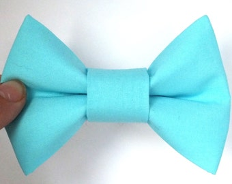 Baby Blue Dog Bow Tie, Light Blue Dog Bow Tie, Blue Dog Bow, Blue Bow Tie, Dog Bow for Wedding, Summer Dog Bow