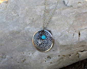 Circle Charm Necklace