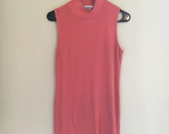 classy rose red dress