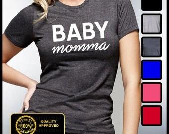 Baby Momma Tshirt, Baby Daddy, Babby Mama T-shirt