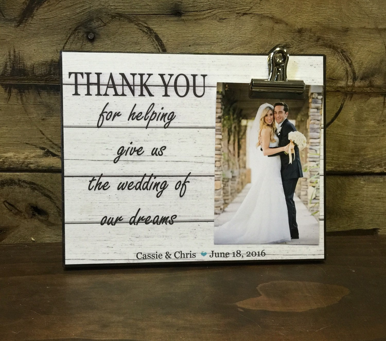 Thank You Wedding: Wedding Officiant Gift Wedding Gift Thank You For Helping