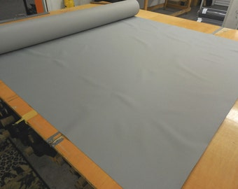 2 Yards Silver 300x600D PVC Backed Polyester 12.5 oz. Waterproof, Free Shipping!