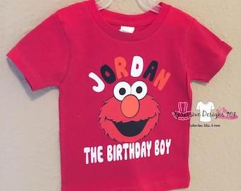 Elmo 2nd Birthday Boy