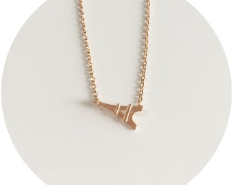 Tiny Eiffel Tower Necklace