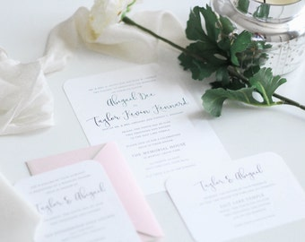 Sweet | Wedding Invitation Suite