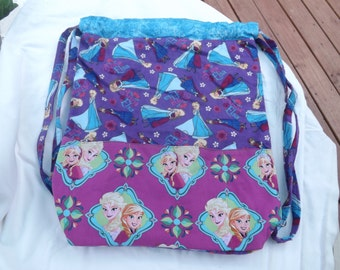 Child's Backpack - Frozen - Elsa and Anna