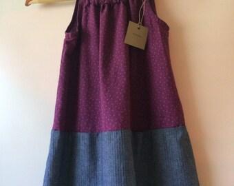 Jumper dress for girls