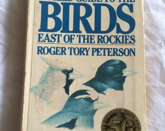 Vintage 'Field Guide to Birds'