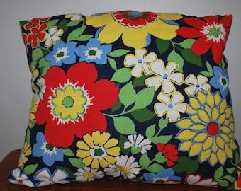 Flower Pillow-Decorative Pillow- Throw Pillow-Free Shipping
