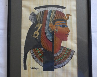 Framed Egyptian art