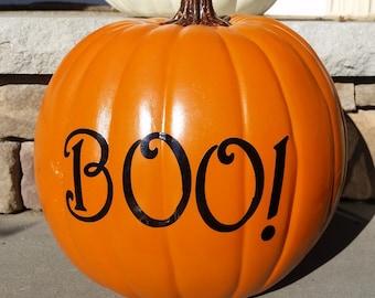 Pumpkin Decals - Personalized Pumpkin Decals - Halloween Decorations
