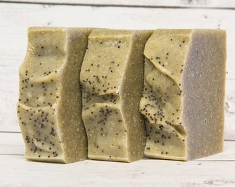 Spearmint Soap, Handmade Cold Process Soap