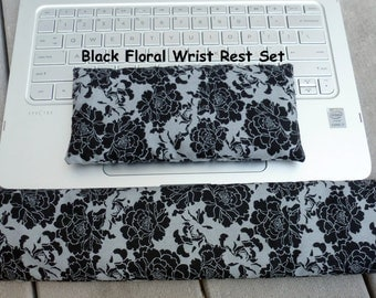 Aromatherapy Keyboard and Mouse Wrist Rest, Wrist Support, Carpal Tunnel, Mouse Pad, Hot Cold Pack, Office Decor, InHer Inner Peace
