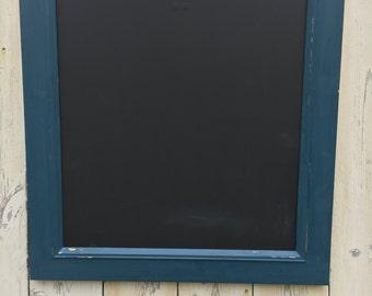 Shabby Chic Blue Blackboard