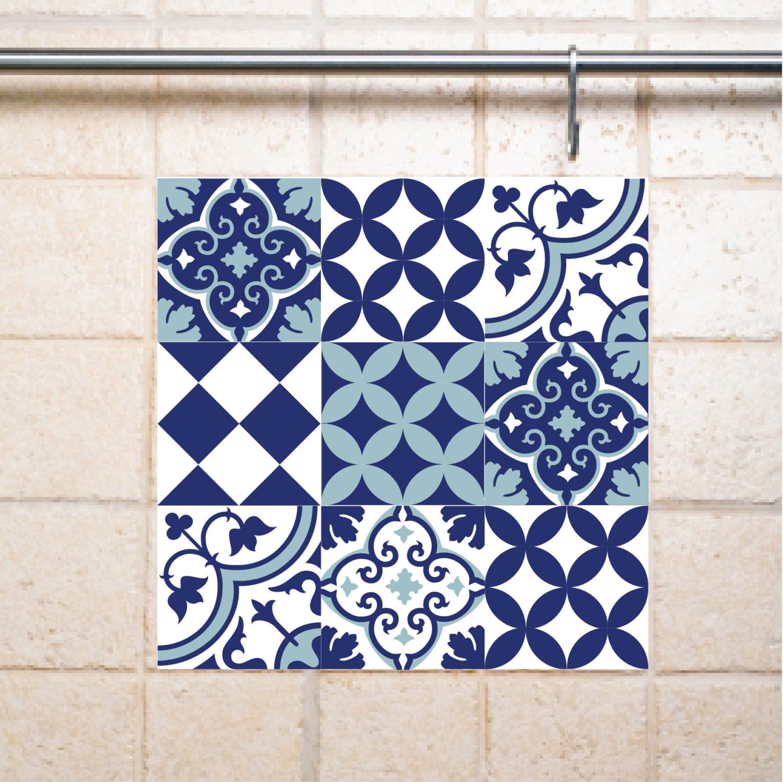mix tile decals kitchen bathroom tiles vinyl floor by videcor