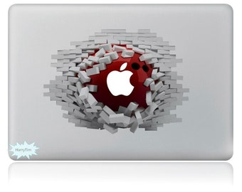 New 3D sticker Macbook decal macbook stickers apple decal mac decal new 18