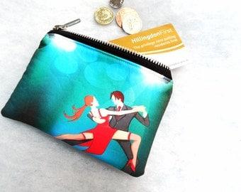 Tango purse! Tango coin purse! Coin purse! Dance purse! Dance gift! Tango gift!