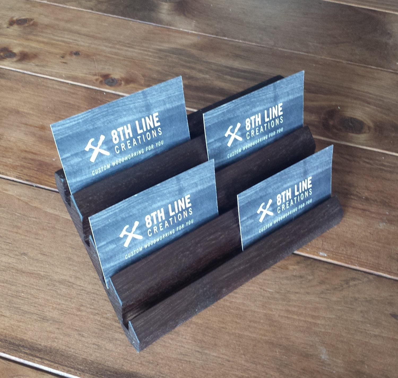 Multiple Business Card Holder Business Card Holder Desk