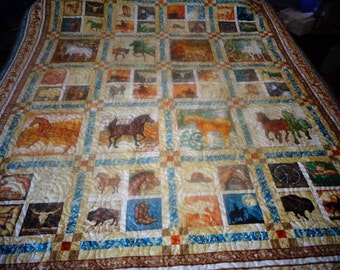 Western themed quilt