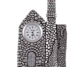 Cornish engine house clock- Hand Made and Design in UK